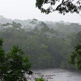 Pluie sur Saut Athanase, 6 novembre 2012. Photo : J.-M. Gayman