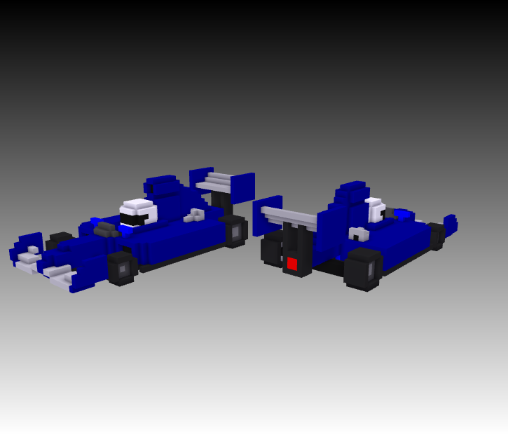 voxel formula race car