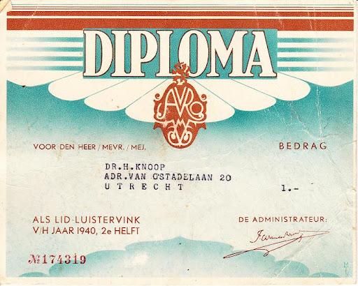 lidmaatschap Avro eerste oorlogsjaar vz.jpg