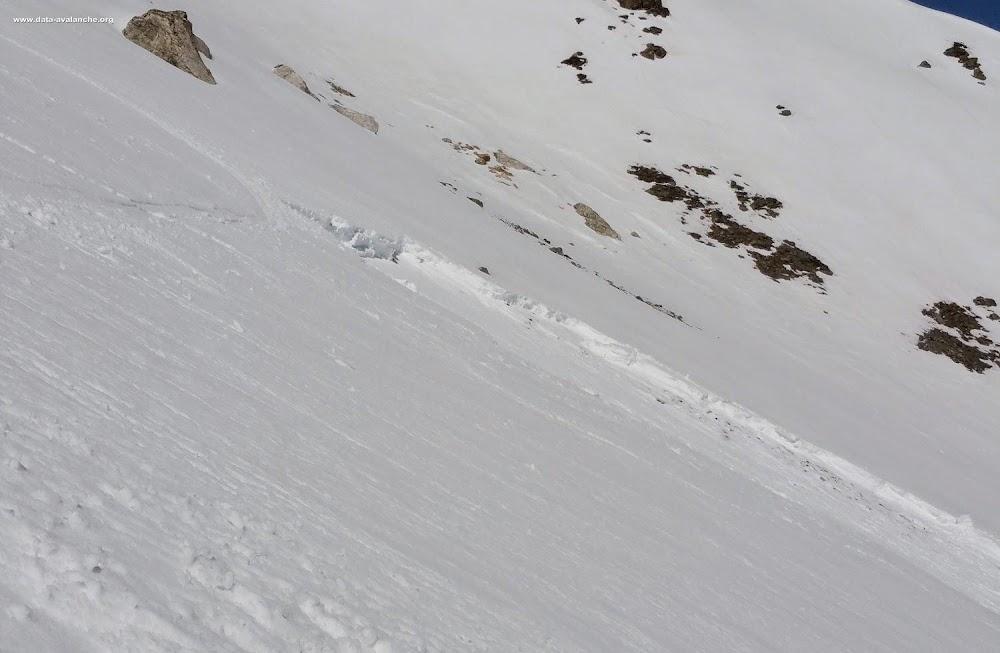 Avalanche Vanoise, secteur Aiguille de Polset, Col supérieur de Chavière - Photo 1