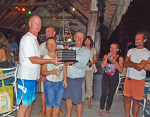 J/30 Cheers winning crew in Cayman Islands