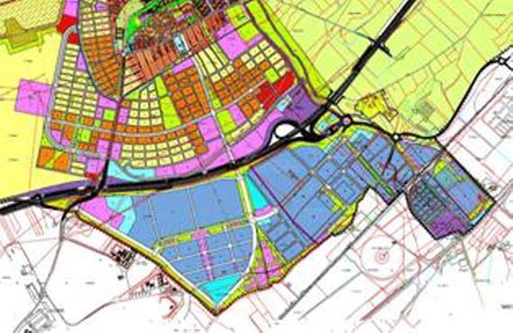 Un humedal en el nuevo Parque Industrial y Logístico de Meco