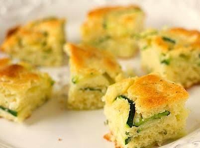 Easy Zucchini Squares Recipe