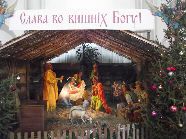 Різдво в   нашому Храмі