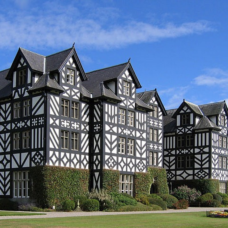 The Gregynog Hall of Tregynon