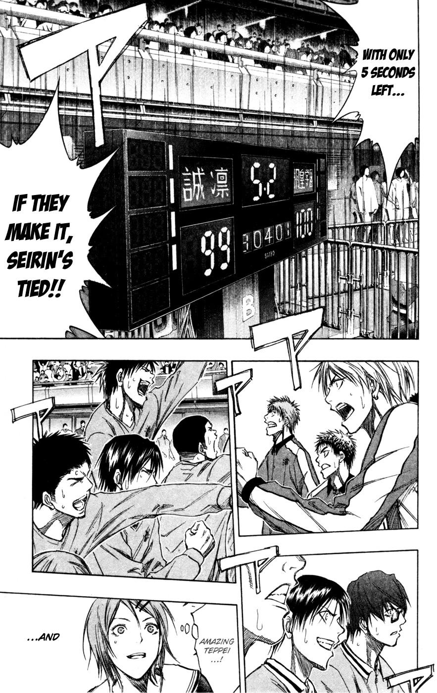 Kuroko no Basket Manga Chapter 138 - Image 05