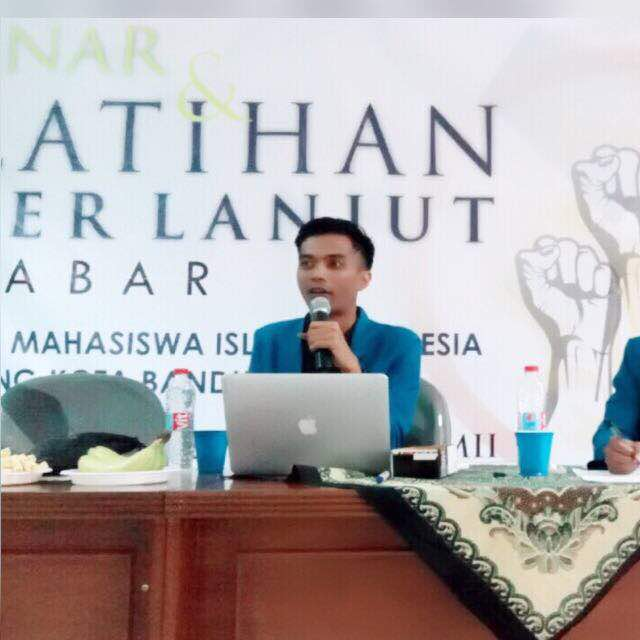Taufik Nurrohim, Cicit Syekh Mahmud Bandung Siap Mengabdi Untuk PMII