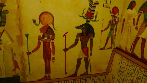 Wall Gods, Egyptian Magic