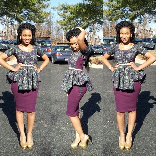 High waisted Ankara skirts this season in south Africa 4