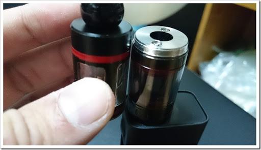 DSC 0831 thumb%25255B3%25255D - 偽TOPTANK(トップフィル)とチタンコイル(VTC Mini)で温度管理を楽しむ