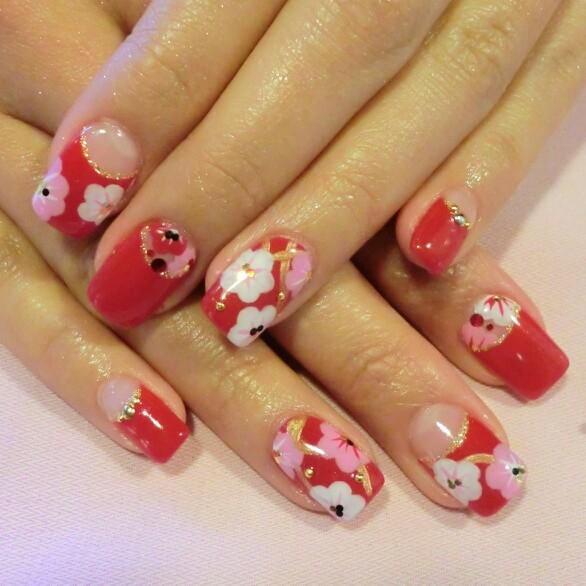 Nails designs for short nails holiday