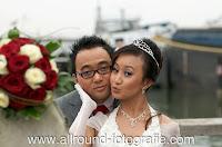 Bruidsreportage (Trouwfotograaf) - Foto van bruidspaar - 133