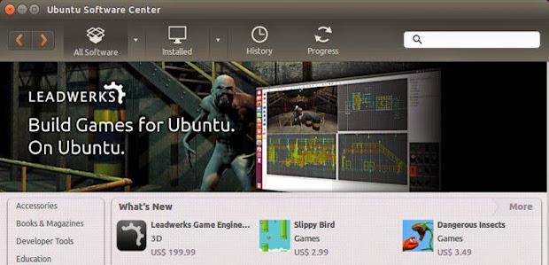 leadwerks Leadwerks ya se encuentra disponible en el Centro de Software de Ubuntu
