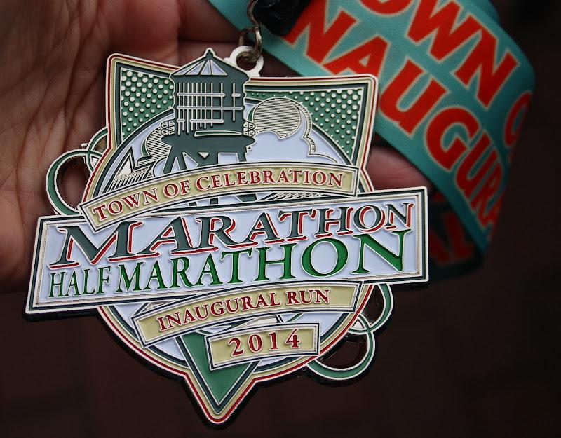 Inaugural Celebration Half Marathon Recap