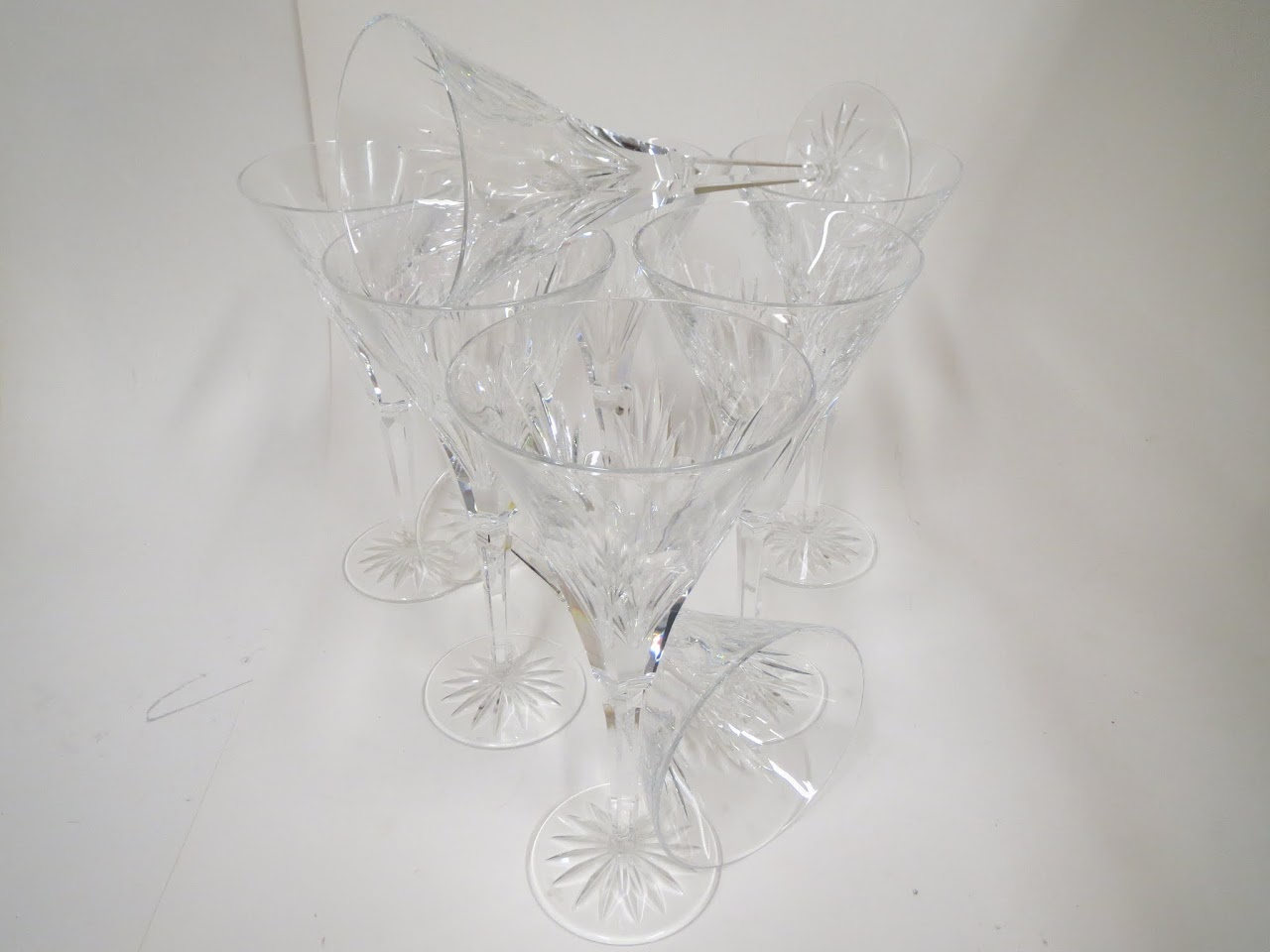 Waterford Crystal Stemware Set of 8 - Ashleigh Pattern
