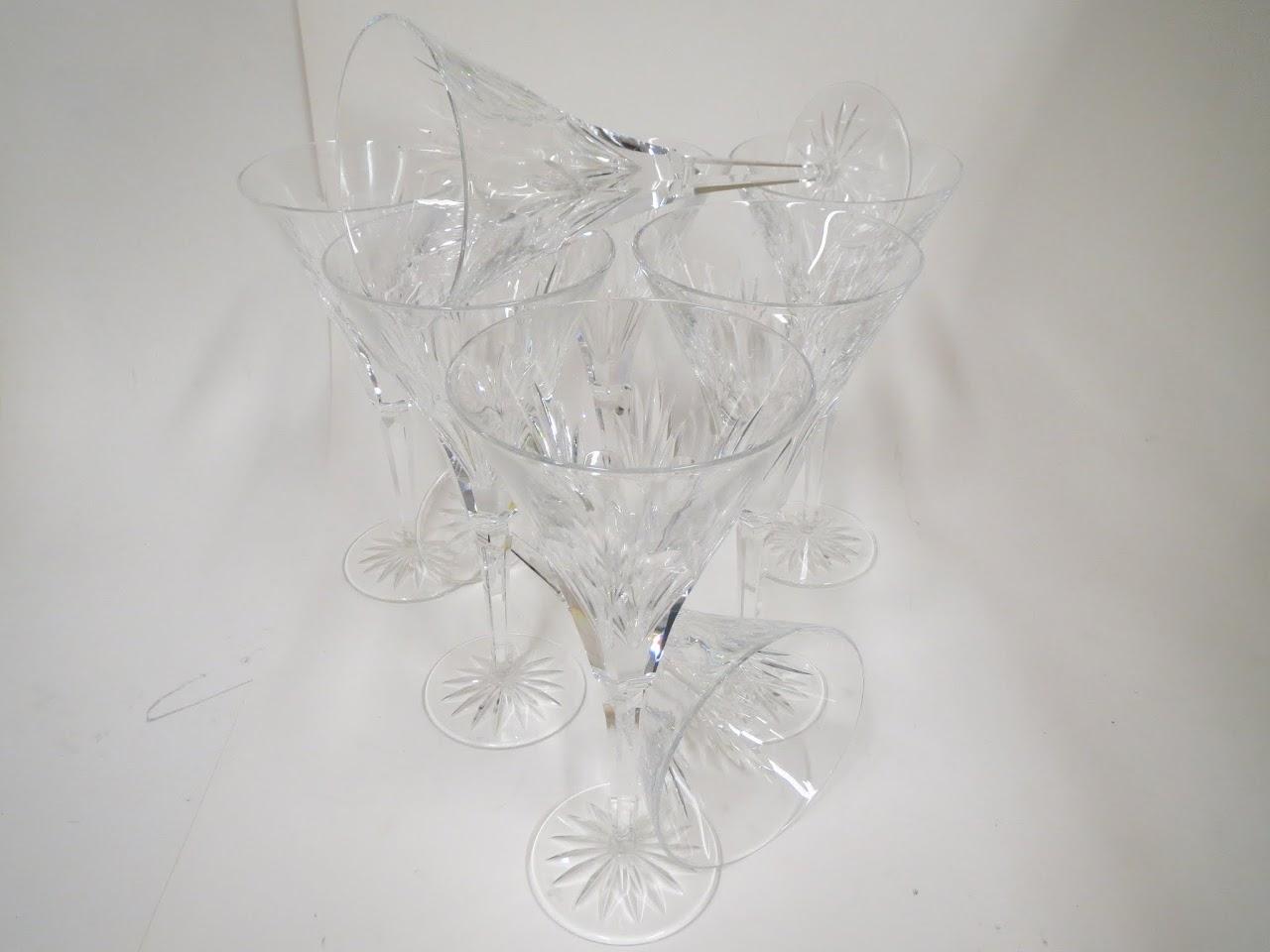 Waterford Crystal Stemware Set of 8 - Ashleigh Pattern