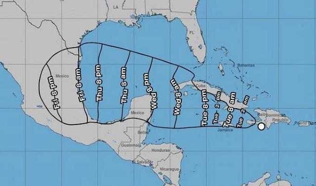Depresión tropical Grace continuará produciendo fuertes lluvias en partes de RD