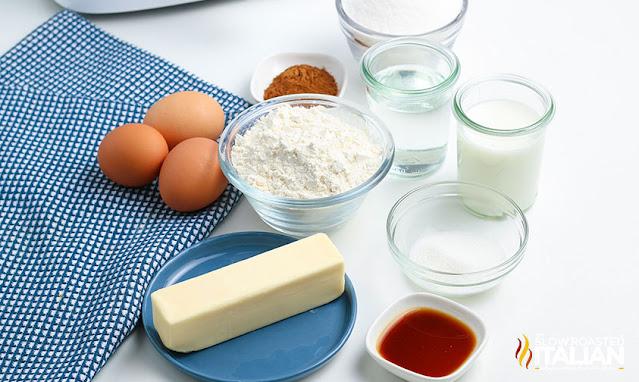 Air Fryer Churros ingredients