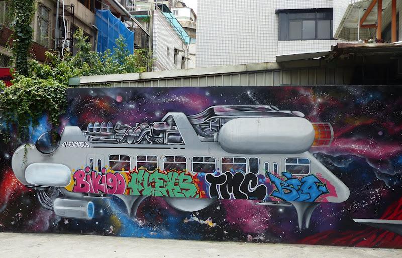 Taipei. Street art à Ximen et Youth park - P1250148.JPG