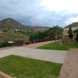 Jerome State Park and Audrey Shaft, Jerome, Arizona