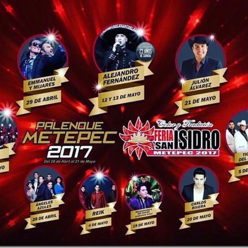 Boletos Palenque Feria Metepec 2017