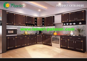 Kitchen Set Murah Black Lotus