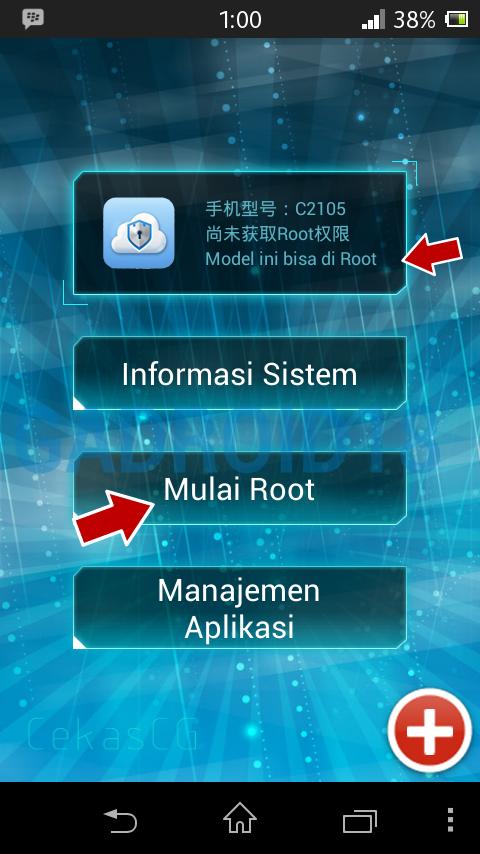 Cara Root Xperia L Tanpa Komputer