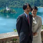Obisk cesarskega para Akishino - Bled