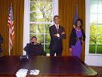 Ja a americká prezidentská rodina :)