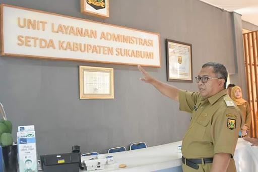 Marwan Hamami Periksa PNS Sukabumi Tidak Bolos Usai Libur Lebaran 2019