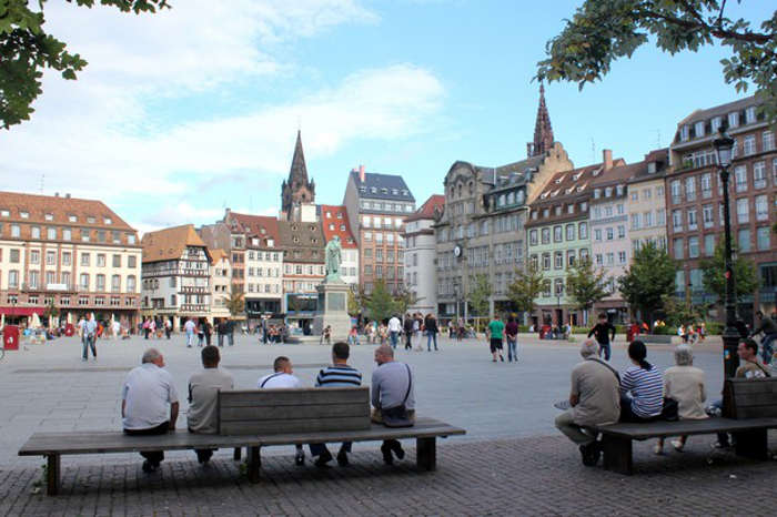 plaza central de Estrasburgo