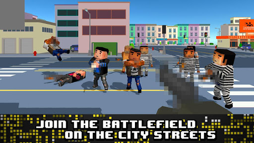 Pixel Shoot: City Wars 3D