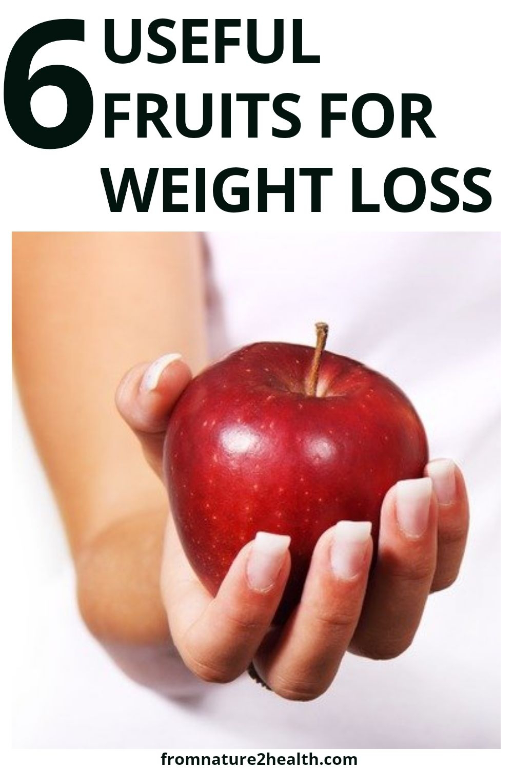 6 Useful Fruits for Weight Loss