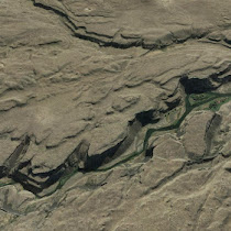 Palouse River and Canyon in Eastern Washington (GoogleEarth views)