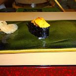 Sukiyabashi Jiro sea urchin in Roppongi, Tokyo, Japan