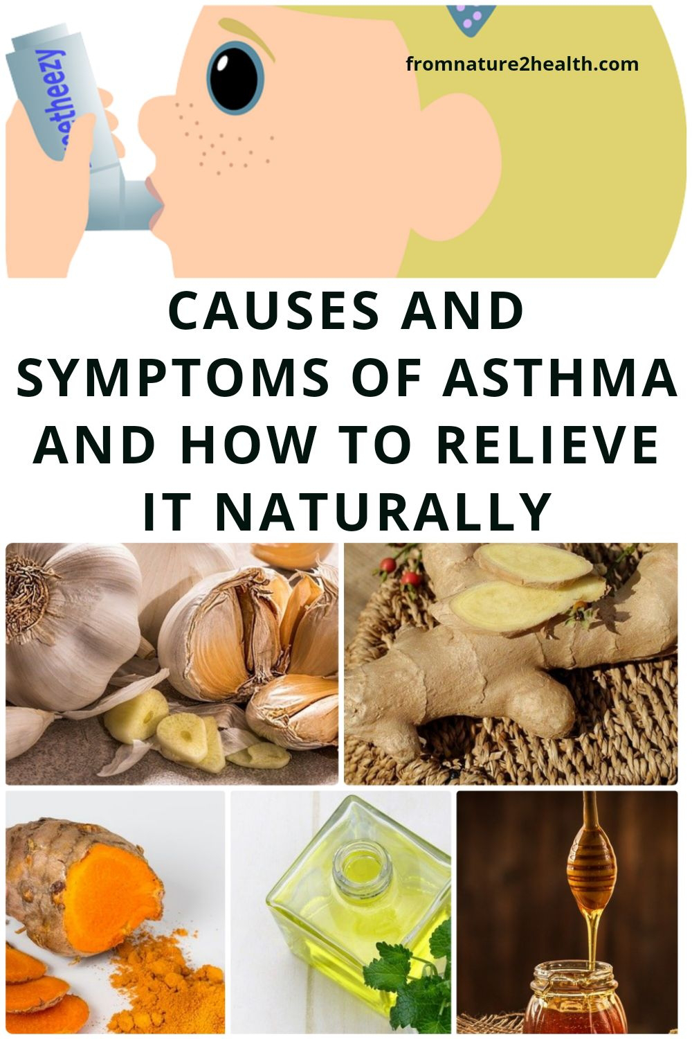 Causes and Symptoms of Asthma and How to Relieve It Naturally
