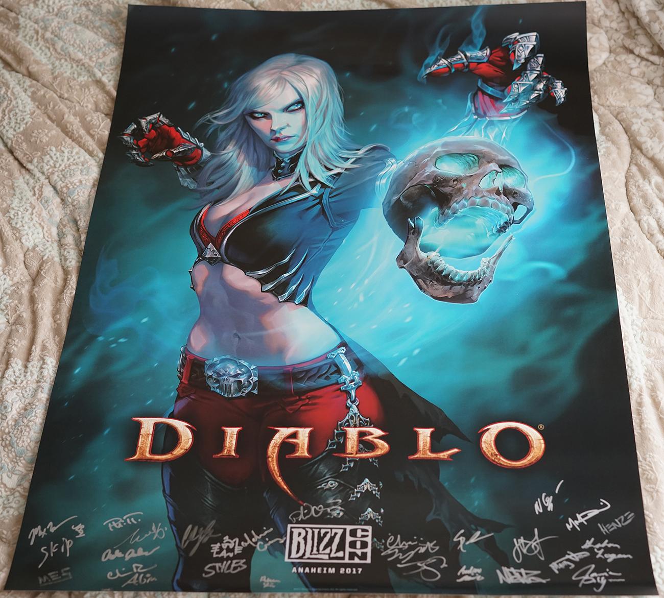 Diablo 3 Poster by Wraether on DeviantArt  |Diablo Iii Poster