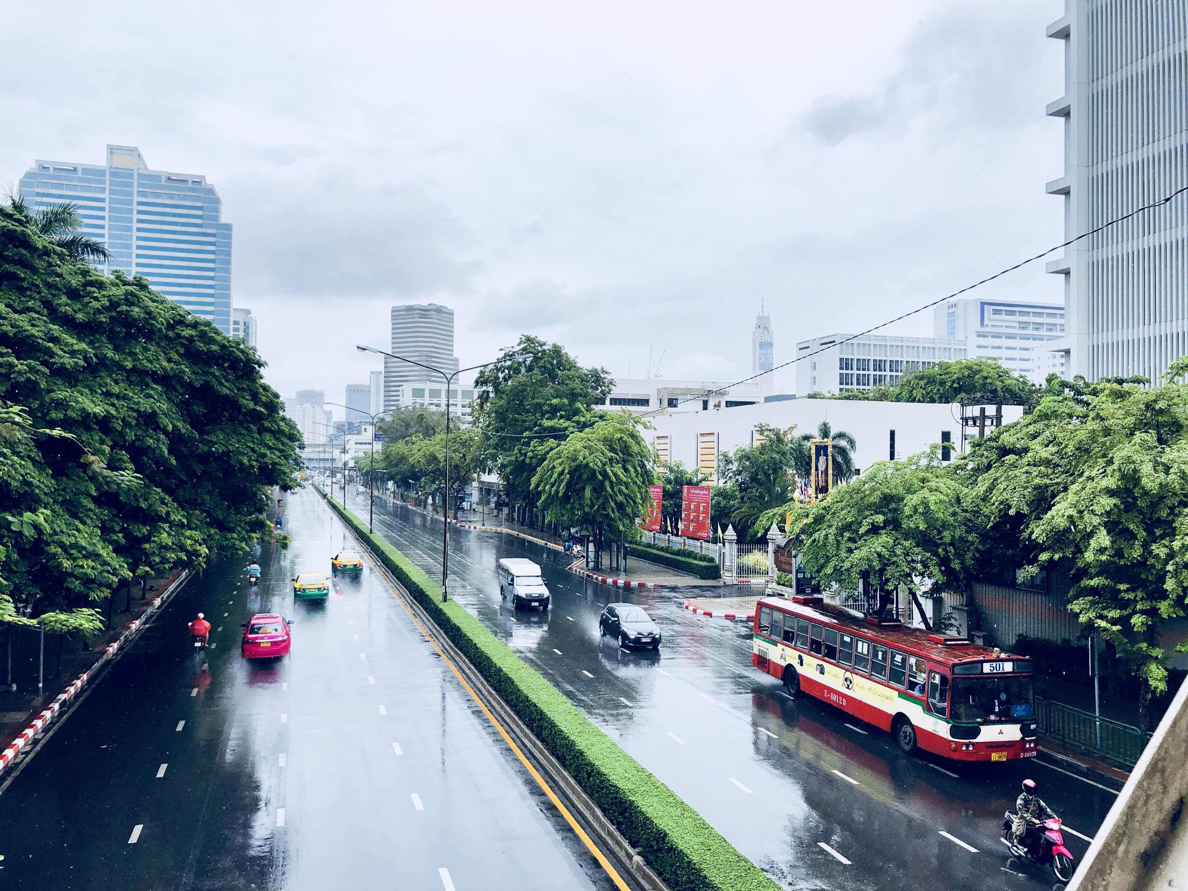 Bangkok en Juillet