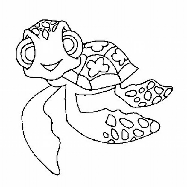 Nemo Coloring Pages To Print  Finding Nemo Coloring Pages To Print Sea  Turtle