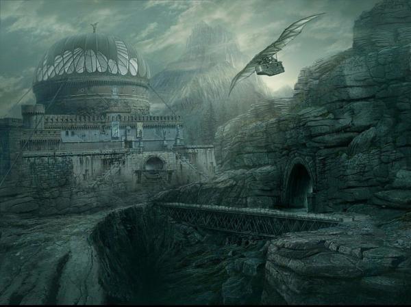 Fog Castle, Magical Landscapes 1