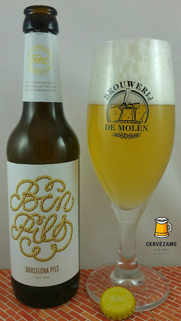 cerveza beer Fort Barcelona Premium Pils cervezame labios barcelona