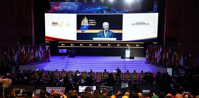 Buka KL Summit, Mahathir Mohamad: Agama Islam Banyak Difitnah!