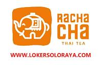 Lowongan Kerja Sukoharjo Rachacha Thai Tea November 2020