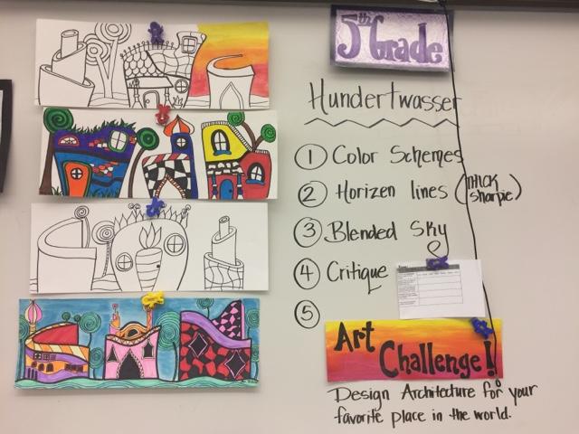 jamestown elementary art blog reporting fifth grade freidrich