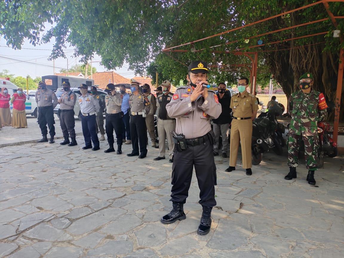 Tiga Pilar Kabupaten Majalengka Gelar Ops Yustisi Blusukan Ke Desa Mandapa