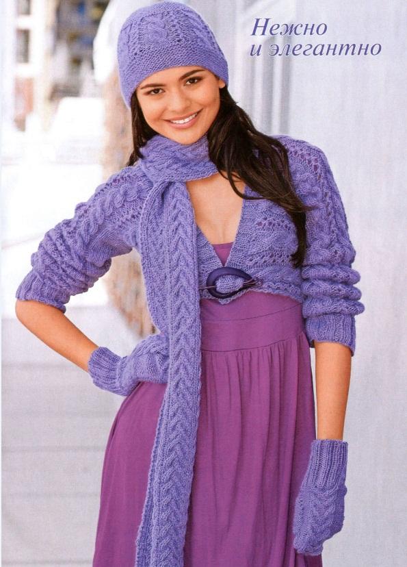 Вязание сарафан на 2 года спицами