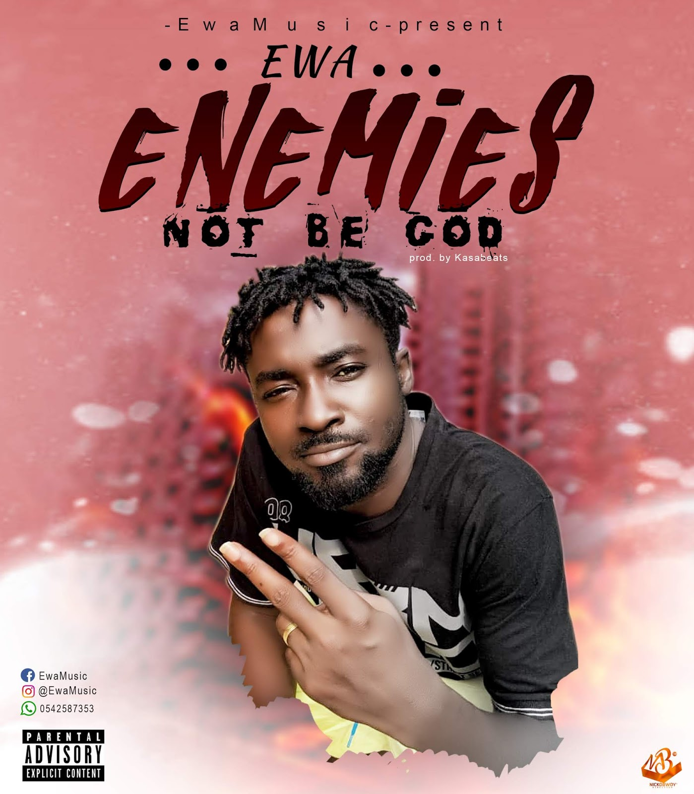 Download Song: Ewa - Enemies not be God (Produced. By Kasapa Beatz). Mp3