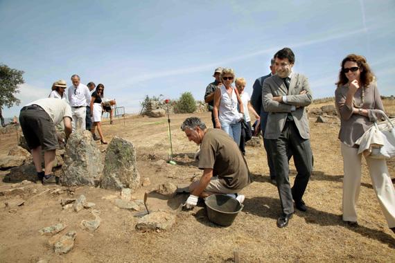 Dos nuevos yacimientos visitables de los siglos VI y VII en Colmenar Viejo