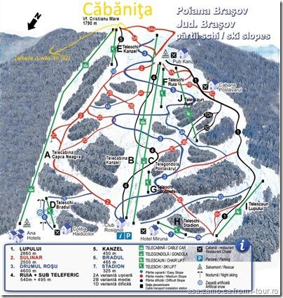Căbăniţa-Harta-partii-schi-Poiana-Brasov