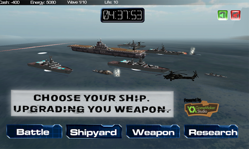Multiplayer Navy Strike 3D